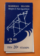 Marshall Islands #41a Booklet Comp Mnh Cv $10.00 - Marshall