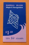 Marshall Islands #40a Booklet Comp Mnh Cv $7.50 - Marshall