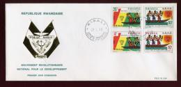RUANDA,  FDC, 1985 - Rwanda