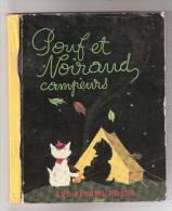 Pouf Et Noiraud Campeurs  1955  Chats Les Albums Roses - Livres, BD, Revues