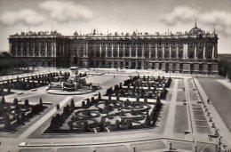 CPSM MADRID - PLAZA DE ORIENTE Y PALACIO NACIONAL - Madrid