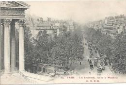 PARIS - 75 -  Les Boulevards Vus De La Madeleine - 943/ENCH11  - - France