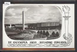 SUOMI FINLAND - HELSINKI - XV OLYMPIA 1952 - TB - Finland