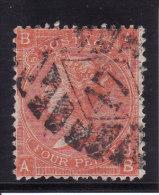 Grande Bretagne - N° 32 (Yvert Et Tellier) Oblitéré - Planche 10 - 1840-1901 (Victoria)