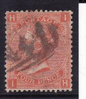Grande Bretagne - N° 32 (Yvert Et Tellier) Oblitéré - Planche 9 - 1840-1901 (Victoria)