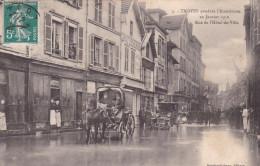 Carte Postale Ancienne - [10] Aube - Troyes - Pendant L´Inondation - Troyes