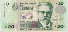 Uruguay - 20 Pesos 2011 - Série F - N° 46865223 - TTB - - Uruguay
