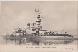 "Cpa,le ""valmy"" Garde-cotes,cuirassé - Warships"
