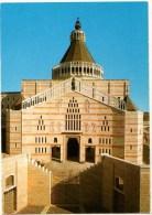 C P M--NAZARETH--la Basilique De L'annonciation--voir 2 Scans - Palestine