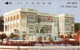 LAOS ENTREPRISE DES TELECOMMUNICATIONS 100U UT - Laos