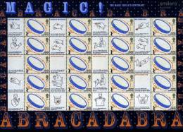 GREAT BRITAIN - 2005  MAGIC GENERIC SMILERS SHEET   PERFECT CONDITION - Fogli Completi