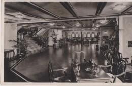 Cpa,intérieur Ss Washington,véranda Café De Haut Luxe - Hotels & Restaurants