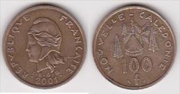 NOUVELLE CALEDONIE : 100 FRANCS 2001 SUPERBE  (voir Scan) - Nuova Caledonia