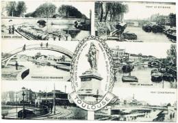31 - TOULOUSE - Les Ponts Sur Le Canal Du Midi : Jumeaux, Saint Etienne, Saint Sauveur, Constantine, Negreneys - Toulouse