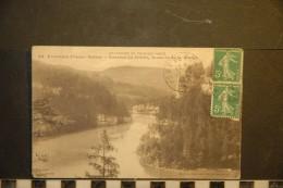CP, 25, Frontiere Franco Suisse Bassin Du Doubs Rochers De La Vierge N°29 Edition L Gaillard Pretre RARE - France