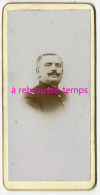 Format Mignonnette CDV 4x8cm-portrait D´un Soldat Du 102e Régiment-photo Anonyme - Photos
