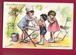 CPA GERMAINE BOURET - La Marchande De Coco - Bouret, Germaine