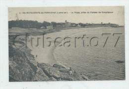 Pornichet (44) : La Plage Et Les Villas à Sainte-Marguerite Prise Du Plateau De Congrigoux En 1920 (animé) PF. - Pornichet
