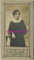 Format Mignonnette CDV 5 X 8,8cm- Format De Femme - Photographe A. Bartoli - Photos