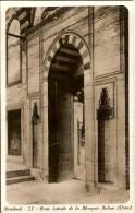 ISTANBUL-PORTE LATERALE DE LA MOSQUEE SULTAN AHMED-ISTAMBOUL - Turkey