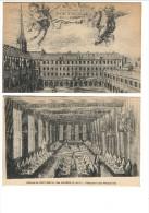Lots 2cp- Abbaye De PORT-ROYAL-des CHAMPS. Réfectoire Des Religieuses. Et 33 Cloistre De PORT-ROYAL Des CHAMPS - Magny-les-Hameaux