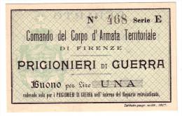1917 // Bon De Prisonnier De Guerre // DICCI - Unclassified
