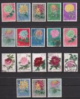 China  Used Collection Plants 18 Stamps - 1949 - ... République Populaire