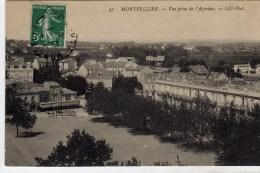 Montpellier Vue Prise De L'aqueduc - Montpellier