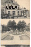 DEPT 03 :  Montlucon , La Gare Et L Avenue De La Gare - Montlucon