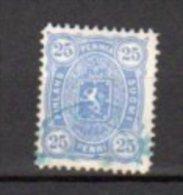 FINLANDE    Oblitéré    Y. Et T.  N° 24     Cote: 3,75 Euros - 1856-1917 Administration Russe