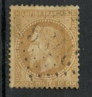 France 1867 10c  Napoleon III Issue #32 - 1863-1870 Napoleon III With Laurels