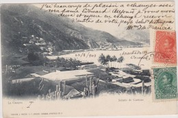 Cpa,venezuela,caracas En 1903,la Guayra,edicion J Macchi Et P Jenzer,rare,amérique - Venezuela