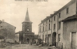 BOUXIERES AUX BOIS La Mairie Et L´église - France