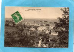 SAINT CHELY DAPCHER-vue Générale -a Voyagé En  1906 - Saint Chely D'Apcher