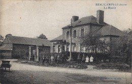 80 Beaucamps Le Jeune - La Mairie - 1925 - Unclassified
