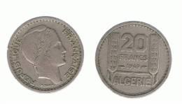 ALGERIA - ARGELIA -  20 Francs  1949  KM91 - Argelia