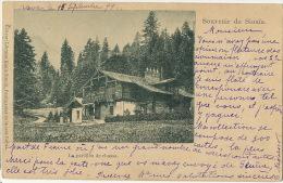 Souvenir De Sinaia Le Pavillon De Chasse  Edit Storck  1899 - Roumanie