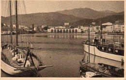 CPA PORT VENDRES - VUE D'ENSEMBLE DU PORT - Port Vendres