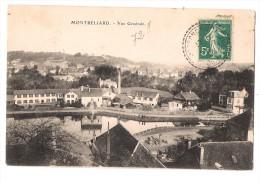 CPA Montbéliard - Vue Générale - Montbéliard
