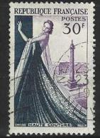 """FR YT 941 """" Haute Couture Parisienne """" 1953 Oblitéré - Usati"""