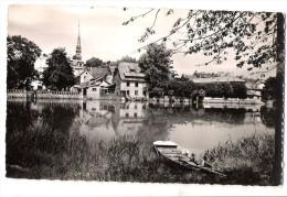 CPSM Montbéliard - Vue Sur L'Allan - Montbéliard