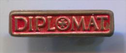 DIPLOMAT - Roller Skates, Vintage Pin, Badge - Skating (Figure)
