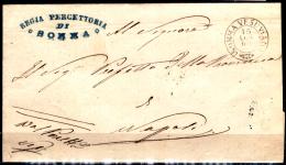 Somma Vesuviana-2 (Piego Senza Testo Del 15 Luglio 1865) - Poststempel