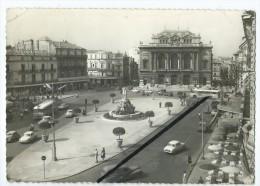 CPM - Montpellier - La Place De La Comédie,le Théâtre Et Les Trois Grâces - Montpellier