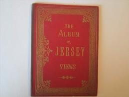 Dépliant The Album Of JERSEY Wiews Saint Heliers Lecq Saint Ouen´s Aubin Harbourg Plemont Bouley - Tourism Brochures