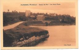 PLOERMEL - Etang Du Duc - Les Deux Ponts - Ploërmel