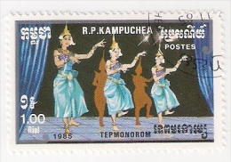 KAMPUCHEA 1985 USATO - Kampuchea