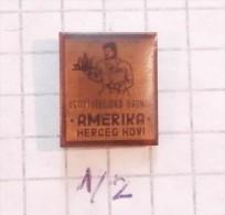 AMERIKA Restaurant - Herceg Novi ´60 (Montenegro) Yugoslavia / ,, AMERICA ,, Catering And Turism  Shop - Cities