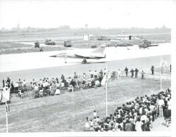 PHOTO 9X13 : CAMBRAI 1976 BASE AERIENNE  - MIRAGE F1 ( Animées - AERODROME  - AVION ) - Cambrai
