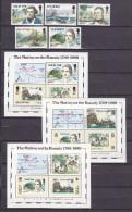 IOM(Fa19) - Mi.Nr.397-401**, Bl.11 Und Gleicher Block Von Picairn Insel Und Nordfolk InslenBounty - Isola Di Man